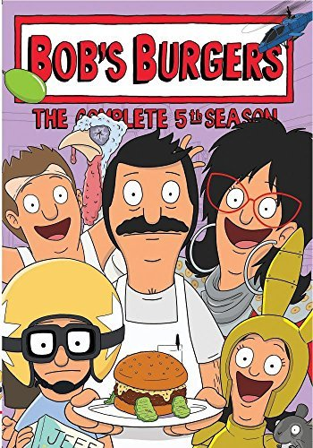 Bob's Burgers Season 5 DVD Mod This Item Is Made On Demand Could Take 2 3 Weeks For Delivery