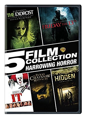Harrowing Horror 5 Film Collection DVD