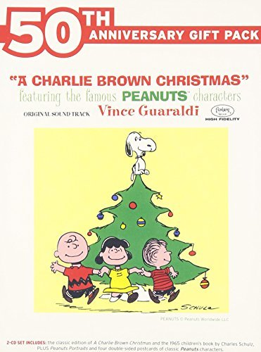 Vince Trio Guaraldi Charlie Brown Christmas 2 CD 50th Anniversary Gift Pack