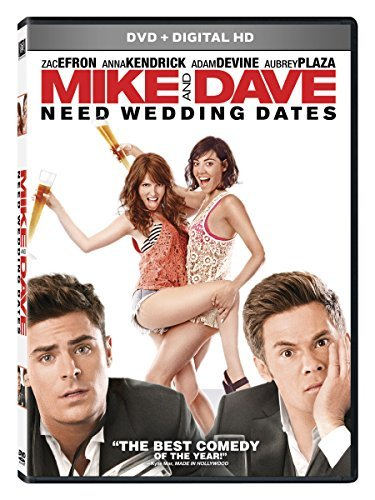 Mike & Dave Need Wedding Dates Efron Kendrick Devine Plaza DVD Dc R