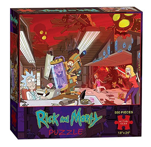 Usaopoly Rick And Morty Puzzle