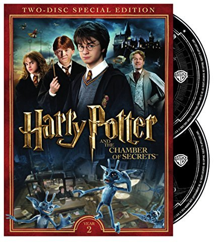 Harry Potter & The Chamber Of Secrets Radcliffe Grint Watson DVD Pg 2 Disc Special Edition