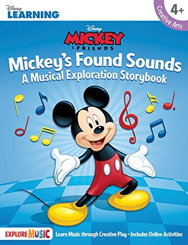 Hal Leonard Corp Mickey's Found Sounds A Musical Exploration Storybook Disney Learning