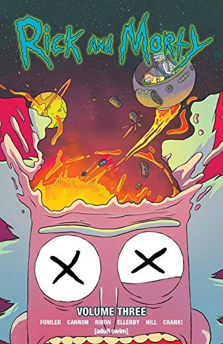 Tom Fowler Rick And Morty Vol. 3