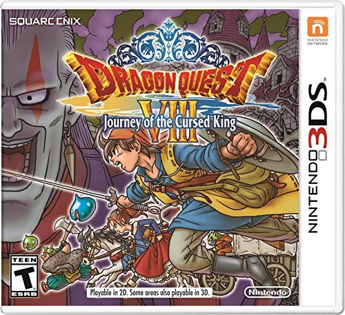 Nintendo 3ds Dragon Quest Viii Journey Of The Cursed King