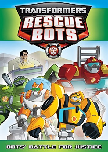 Transformers Rescue Bots Bots Battle For Justice DVD