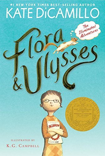 Kate Dicamillo Flora And Ulysses The Illuminated Adventures