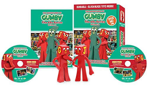 Gumby Volume 2 DVD W Toy