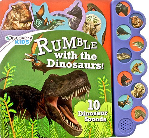 Parragon Books Ltd Discovery Rumble With The Dinosaurs! 10 Noisy Dinosaur Sounds