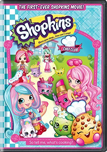 Shopkins The Movie Shopkins The Movie DVD Toy Nr