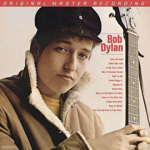 Bob Dylan Bob Dylan 2lp Mono 180 Gram 45rpm Audiophile Vinyl Strictly Limited Numbered To 3000!!