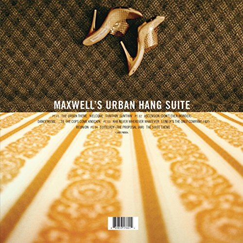 Maxwell Maxwell's Urban Hang Suite (gold Metallic Vinyl) 2 Lp 150g Vinyl Includes Download Insert