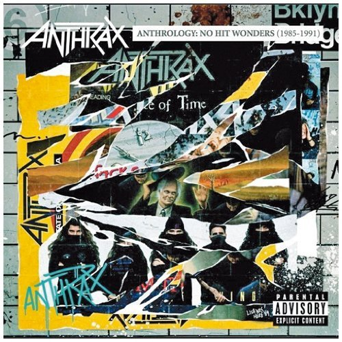Anthrax Anthrology No Hit Wonders Explicit Version 2 CD