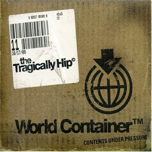 Tragically Hip World Container Import Can Digipak