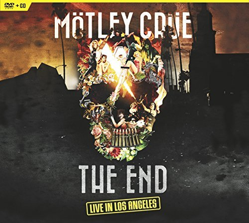 Mötley Crüe The End Live In Los Angeles DVD CD Combo