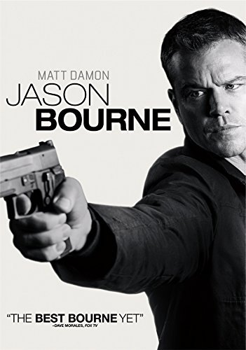 Bourne Jason Bourne Damon Jones Vikander DVD Pg13