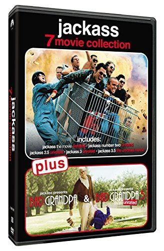 Jackass/7-Movie Collection@Dvd@Unrated