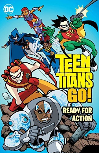 Various Teen Titans Go! Ready For Action