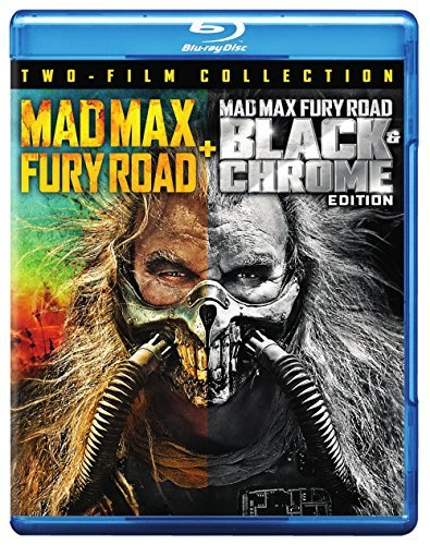 Mad Max Fury Road Fury Road Black & Chrome Hardy Theron Blu Ray R
