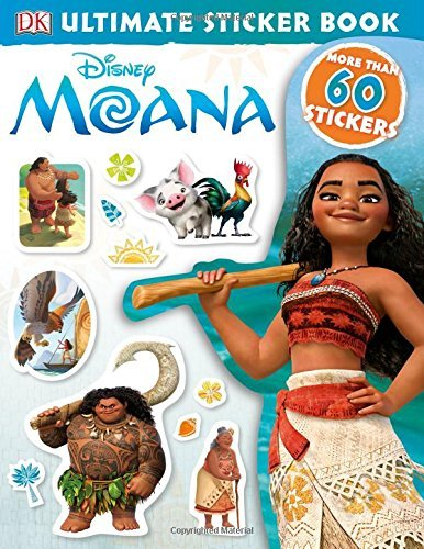 Dk Ultimate Sticker Book Disney Moana