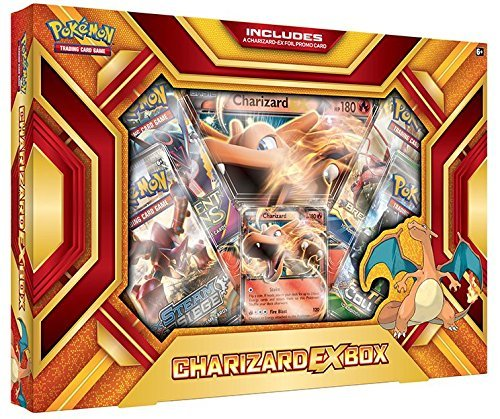 Pokemon Cards Charizard Ex Collection Box
