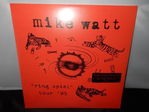 Mike Watt Ring Spiel Tour '95 (orange Vinyl) Indie Exclusive 2lp 150g Vinyl