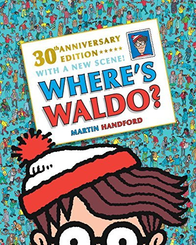 Martin Handford Where's Waldo? 30th Anniversary Edition