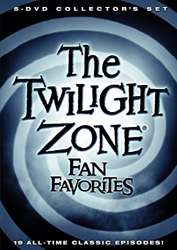 Twilight Zone Fan Favorites DVD 5 Disc Collection