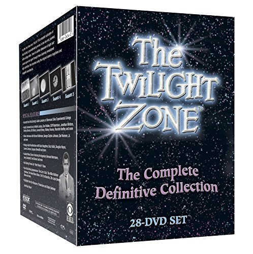 Twilight Zone The Complete Definitive Collection DVD 28 Discs