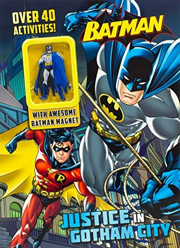 Parragon Books Ltd Batman Justice In Gotham City