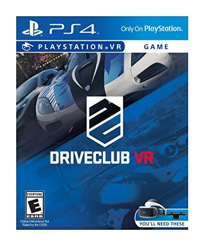 Ps4vr Vr Driveclub **requires Playstation Vr**