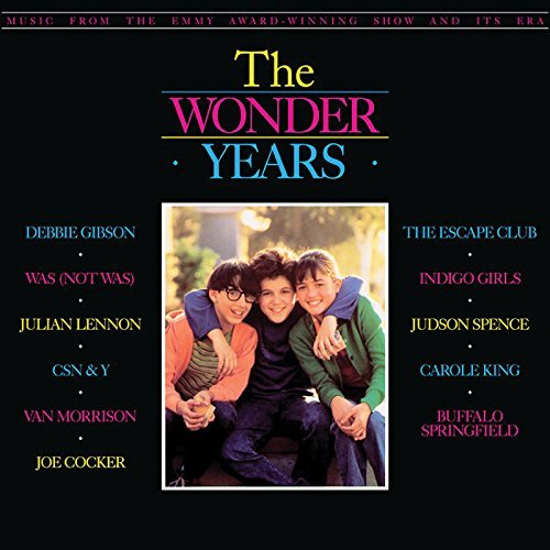 The Wonder Years Music From The Emmy Award Winning Show & Its Era Clear Yellow Vinyl Black Friday Exclusive