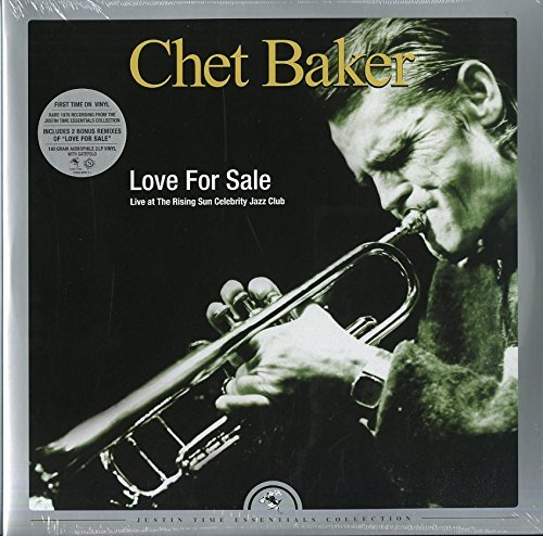 Chet Baker Love For Sale Live At The Rising Sun Celebrity Jazz Club 2lp 180 Gram Vinyl Black Friday Exclusive