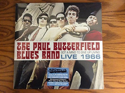 "The Paul Butterfield Blues Band Got A Mind To Give Up Living Live 1966 2 Lp Limited ""butter"" Yellow & ""bloom"" Blue Vinyl Edition Black Friday Exclusive"