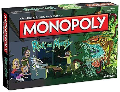 Board Game Rick & Morty Monopoly