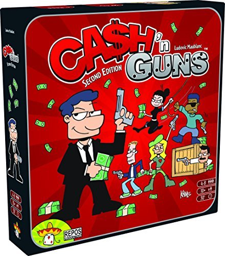 Cash N Guns Base Game 2nd Edition