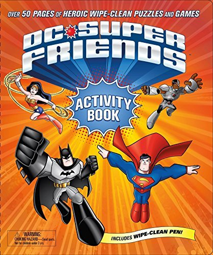 Dc Comics Dc Super Friends Wipe Clean Activity Book