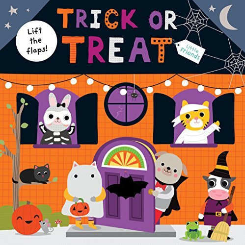 Roger Priddy Little Friends Trick Or Treat