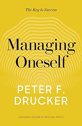 Peter F. Drucker Managing Oneself The Key To Success