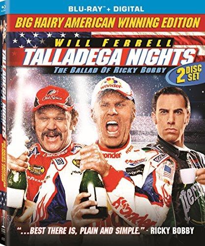 Talladega Nights: Ballad Of Ricky Bobby/Ferrell/Cohen@Blu-ray@Pg13