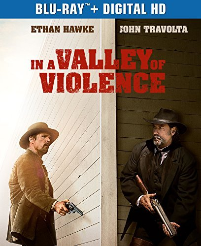 In A Valley Of Violence Hawke Travolta Blu Ray Dc R