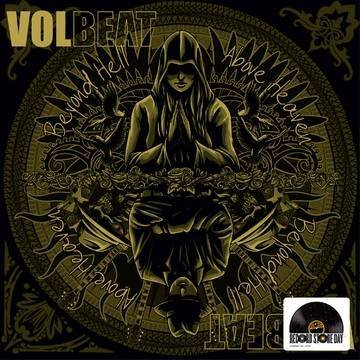 Volbeat Beyond Hell Above Heaven (brown & Gold Vinyl) 2 Lp