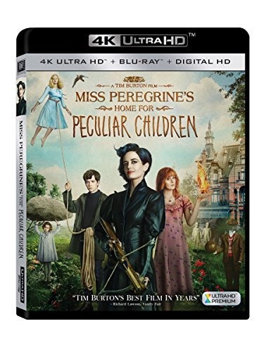 Miss Peregrine's Home For Peculiar Children Green Butterfield Jackson Dench 4k Pg13
