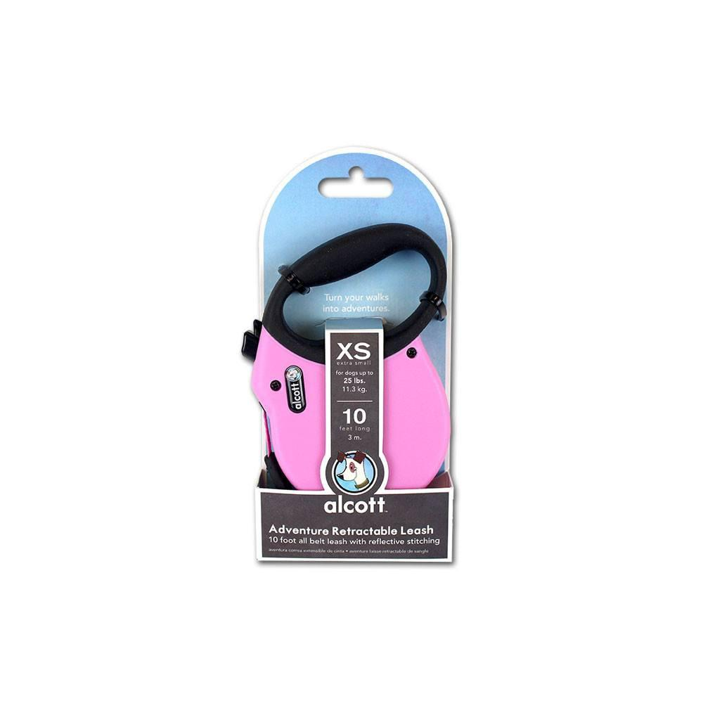 alcott-retractable-dog-leash-pink