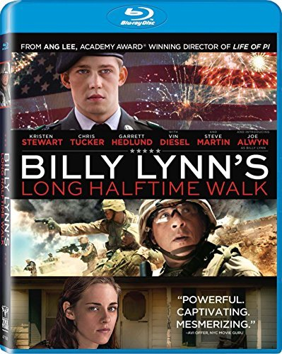 Billy Lynn's Long Halftime Walk Alwyn Hedlund Castro Blu Ray Dc R