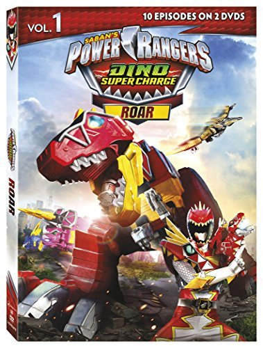 Power Rangers Dino Super Charge Dino Charge Roar DVD