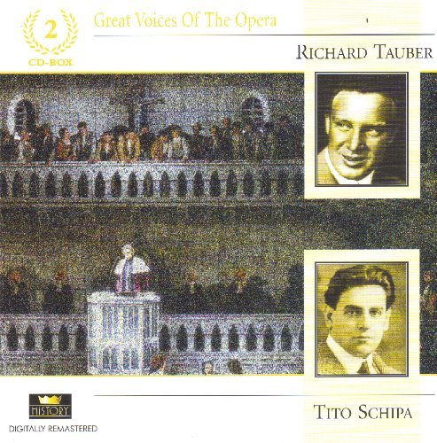 Great Voices Of The Opera Richard Tauber Tito Sc