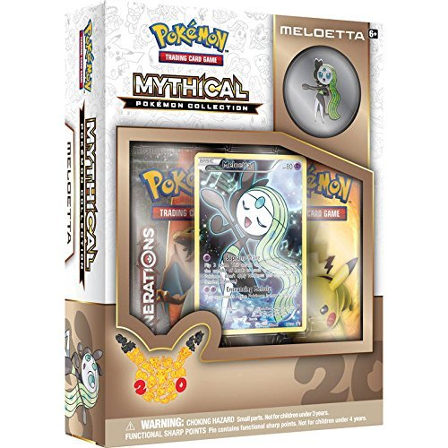 Pokemon Cards Mythical Collection Meloetta