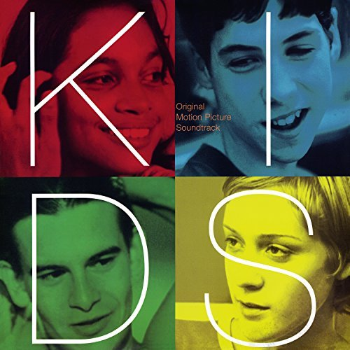 Kids Soundtrack (colored Vinyl) Clear Vinyl Red Blue Green Or Yellow Will Be Shipped At Random. Limited Edition Lp