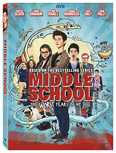 Middle School Worst Years Of My Life Gluck Graham Riggle DVD Pg